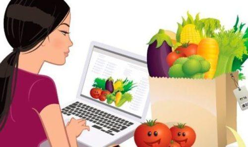заказ продуктов через интернет